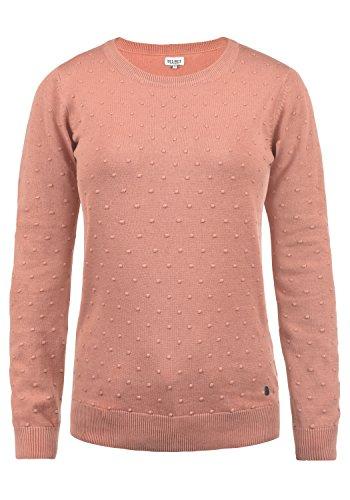 DESIRES Kiki Damen Strickpullover Feinstrick Pullover Mit Rundhals Aus 100% Baumwolle, Größe:L, Farbe:Rose Dawn (4916)