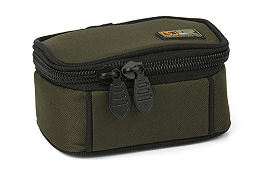Fox R-Series Small Accessory Bag 16x8x10cm - Kleinteiletasche für Zubehör zum Karpfenangeln, Tackletasche, Angeltasche, Tasche