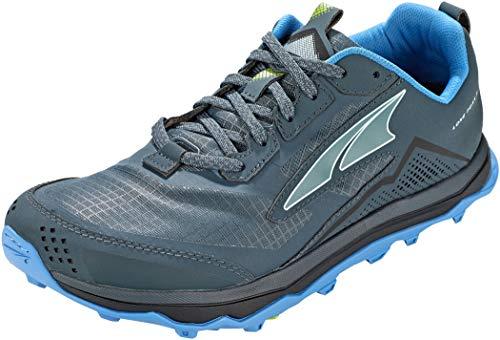 ALTRA AL0A4VQE Men's Lone Peak 5 Trail Running Shoe, Blue/Lime - 10.5 M US