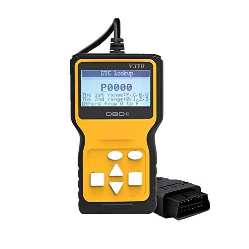 Scanner Para Vehiculos Maquina Diagnosis Lector y reinicio de código de avería...