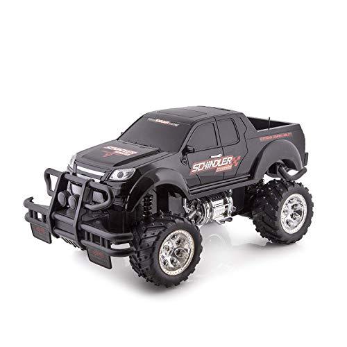 Pick-Up Controle Remoto Monster Truck com luzes -2271 Preto