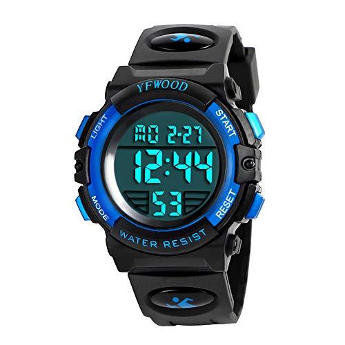 Product Image of the Kids Digital Sport Watch Waterproof Children Outdoor Watches Kid Casual...
