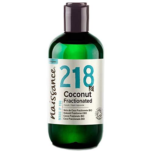 Naissance Huile de Coco Fractionnée Certifiée BIO (n° 218) - 250ml - 100% pure, naturelle et inodore