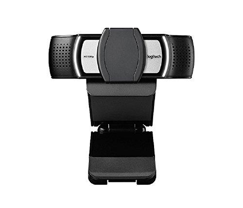 Logitech C930e Business-Webcam, Full-HD 1080p, 90° Blickfeld, 4-fach Zoom, Autofokus, RightLight 2-Technologie, Abdeckblende, Für Skype Business, WebEx, Lync, Cisco, etc., PC/Mac/ChromeOS - Schwarz