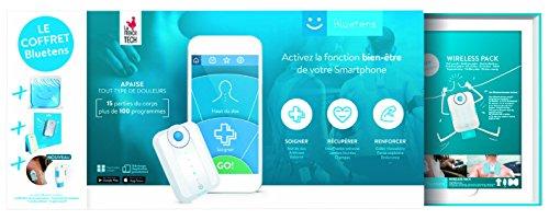 Bluetens Master Pack Electro stimulateur avec accessoire Mixte Adulte, Blanc/Bleu, 6