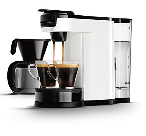 Senseo HD7892/00 Switch 2-in-1 Kaffeemaschine für Filter, Weiß