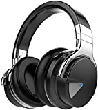 COWIN E7 Active Noise Cancelling Headphones Bluetooth Headphones with Microphone Deep Bass Wireless Headphones...