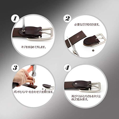 レディース本革 ベルト レザーベルト シンプル 耐久性 軽量 ビジネス カジュアル兼用 ベルト全三色JA041 コーヒー色