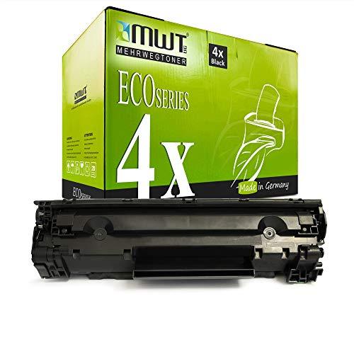 4X MWT Toner für Canon I-Sensys Fax L 150 170 410 ersetzt 3500B002 728 3500B002AA Schwarz Black