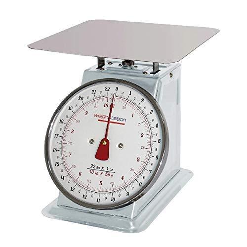 Weightstation platform met een weegschaal van 10 kg, zilverkleurig