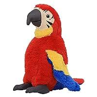 インコぬいぐるみ オウム カラフルな鳥 リアル おもちゃ もこもこ 人形 女の子 誕生日 プレゼント 飾り物 抱き枕 添い寝 もこもこ 癒し系 萌え萌え 人形 おもちゃ インテリア雑貨 プレゼント 30cm