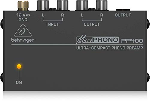 Behringer microPhono PP400 preamplificatore phono