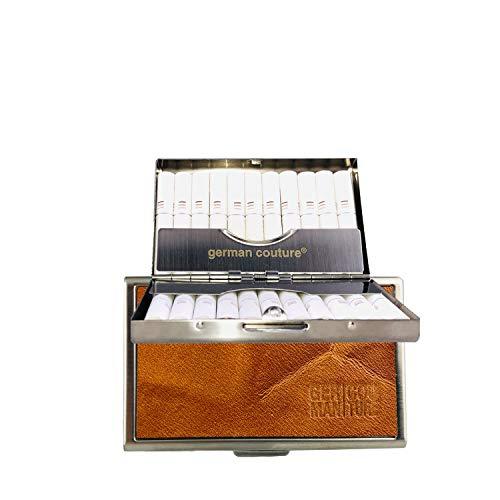 GC® German Couture ORIGINAL – HEET-CASE kompatibel mit IQOS HEETS mit edlen Premium Vintage Leder - edles Zigarettenetui passend zu Holder + Charger 2.4 3 Duo Plus Multi