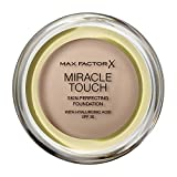 Max Factor Miracle Touch Compact Foundation Base de maquillaje Tono 70 Natural - 11.5 gr