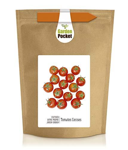 Garden Pocket - Kit de culture de jardin urbain TOMATES CERISES - Sac de pot de fleur