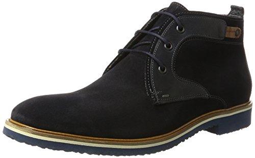 LLOYD Herren Sascha Desert Boots, Blau (Ocean/Midnight/Whisky), 44 EU
