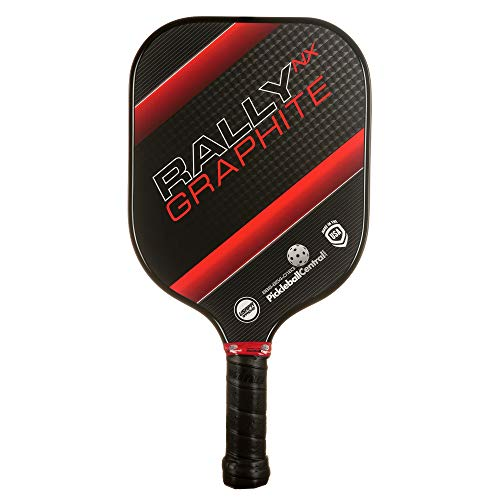 Pickleball Central - Rally NX Graphite Paddle, Red