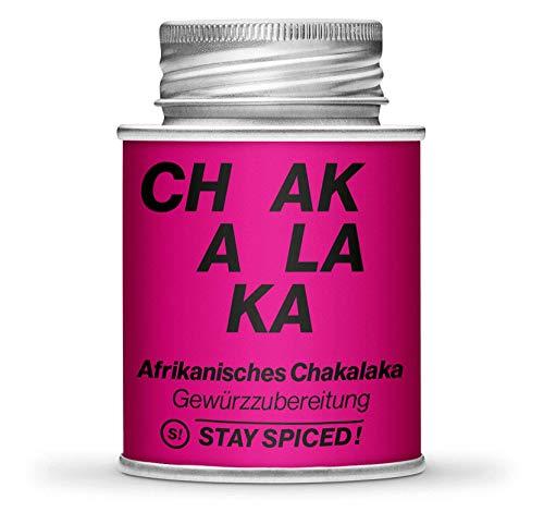 Afrikanisches Chakalaka Gewürz von STAY SPICED ! In Premiumqualität I Verpackt in 170 ml Schraubdose