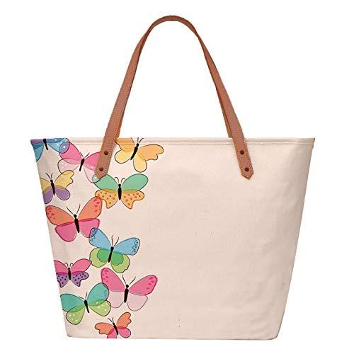 The Purple Tree Women's Tote Bag (FATTYTOTE00010_Multicolored)