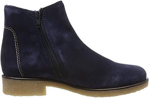 Gabor Shoes Damen Comfort Sport Stiefeletten, Blau (Marine (Karo/Mic) 36), 37 EU
