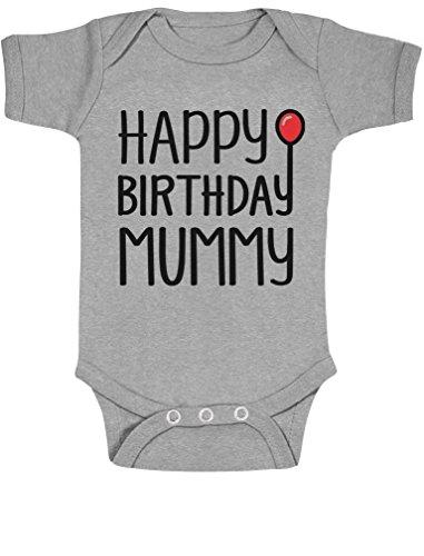 Body de regalo para mamá de feliz cumpleaños para niño/niña 2T