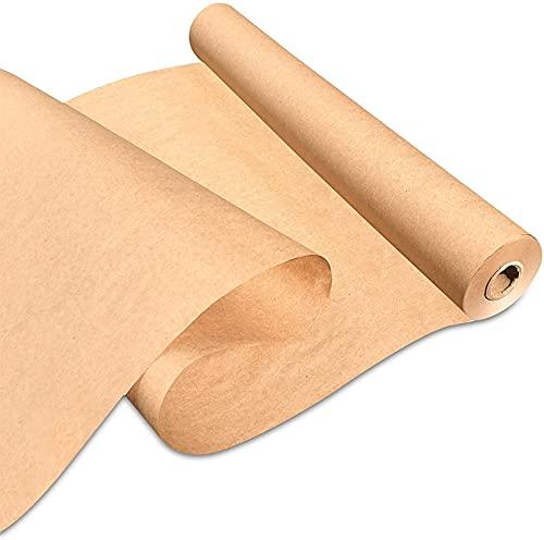 papel de regalo,rollo papel kraft Rollo de papel Kraft Papel reciclado para embarcaciones de envoltura de regalos Arte Pintura Embalaje Scrapbooking Packs Tabla Corredor Material reciclado papel regal