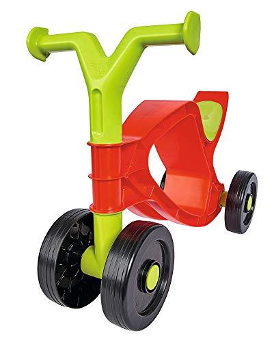 BIG - Flippi - Laufrad in Rot und Grün, Rutschrad mit bis zu 25kg Tragkraft, handlich und platzsparend, Kleinkinder Fahrrad für Kinder ab 18 Monaten