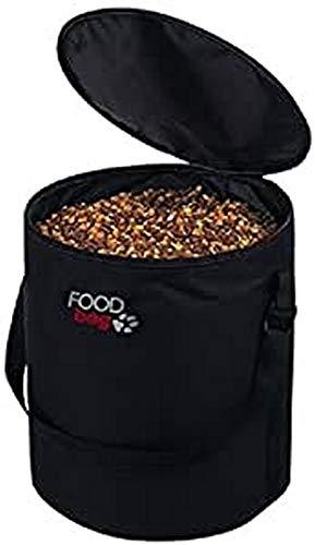 Trixie 24662 Foodbag, nylon, ø 40 × 44 cm, zwart