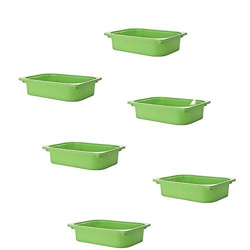 IKEA TROFAST Aufbewahrungsbox–parent grün