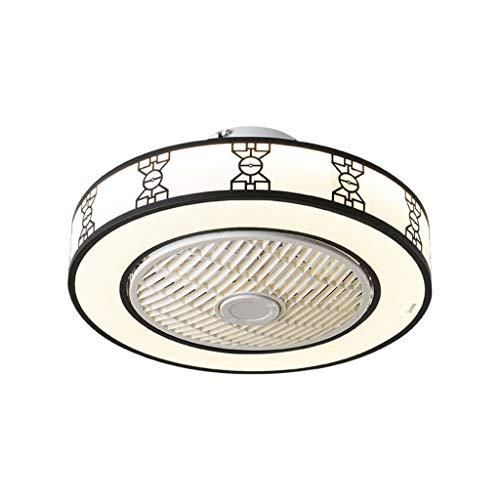 liangzishop Plafón de Techo Ventilador de Techo Lámpara de Estilo Chino Lámpara Simple Lámpara LED Lámpara de Sala de Estar del Restaurante del Dormitorio Luz de Techo