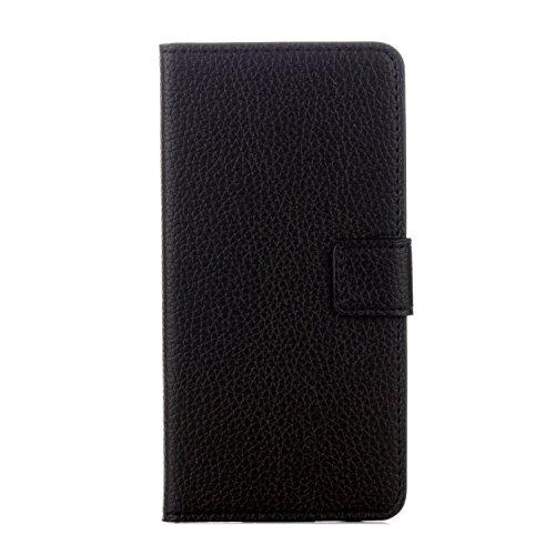95Street Huawei Honor 6A Handyhülle Book Case Huawei Honor 6A Hülle Klapphülle Tasche im Retro Wallet Design mit Praktischer Aufstellfunktion