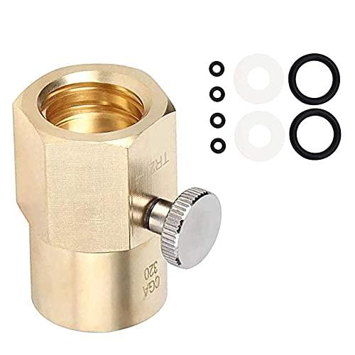 OhhGo Cartuchos de cilindro de CO2 Accesorios de repuesto para tanque de máquina Sodastream