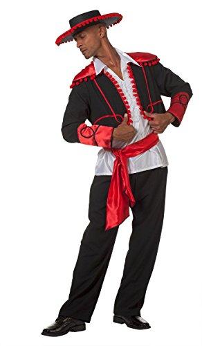 Wilbers NEU Herren-Kostüm Spanier Don Miguel, 3-TLG. Gr. 54-56