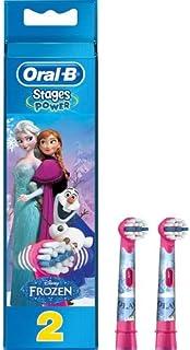Oral-B Stages Çocuklar İçin Diş Fırçası Yedek Başlığı, Frozen, 2 adet, Çok Renkli