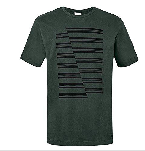 Unbekannt Original Mini JCW Stripes T-Shirt pour Homme Homme Racing Green Vert 2017/19 – Taille XL