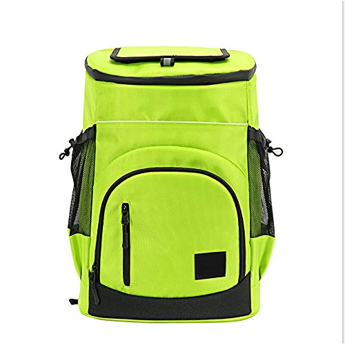 Nenka Mochila isotérmica de 30 litros, ligera, impermeable, a prueba de fugas, para camping, senderismo, almuerzo, picnic, color verde