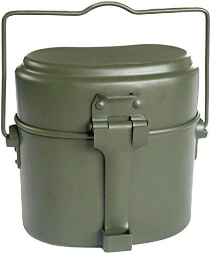normani Original Bundeswehr Aluminium Kochgeschirr Farbe Olive