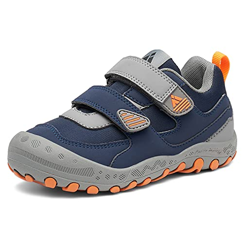 Mishansha Girls Boys Shoes for Big Kids Snekers Size 6 Dark Blue Running Shoes Breathable Sports Shoes for School