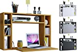 VCM Wandschreibtisch Wandtisch Schreibtisch Wandregal Bürotisch Wandila Weiß