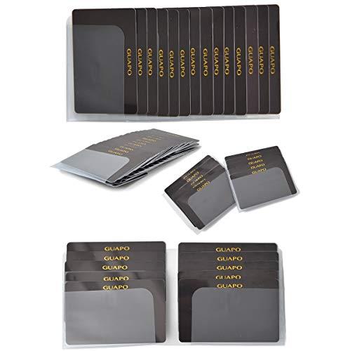 【雑誌掲載!2種類セット 長財布 ・ 二つ折り財布 ・ ミニ財布 に入れて使える】 カードケース インナーカードケース GUAPO 最大48枚収納 財布 に入れるタイプ 薄型 カード入れ スリム カードホルダー カードファイル