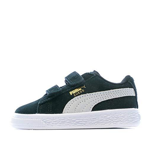 Puma, Sneakers Basses mixte enfant, Noir (Black/White), 19 EU