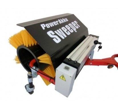 Powerpac accuveegborstel 50 cm geschikt voor elektrische sneeuwruimer ES230 en elektro-damper ED120 incl. adapter - accuschroevendraaier elektrische schroevenwagen accuschuiver accuschuiver schuifkarre dumbeker motorschuif