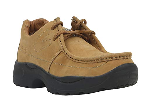 Woodland G 4035Y15 Men Camel Leather Casual Shoes