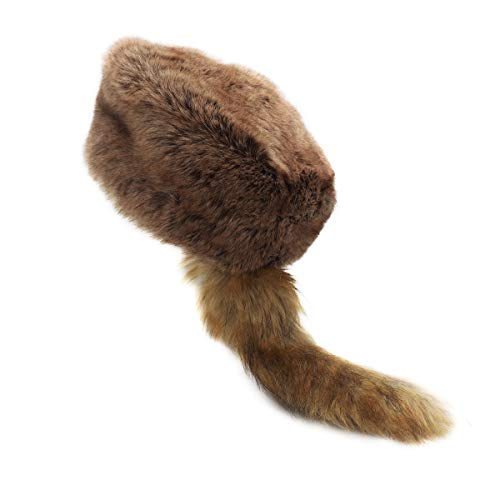 surell - Coonskin Davy Crockett Hat…