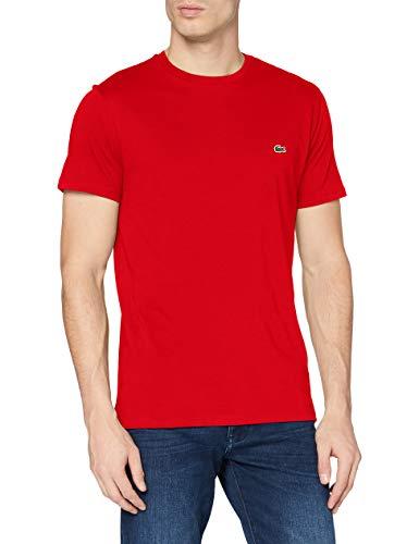 Lacoste TH6709, Camiseta para Hombre, Rojo (Rouge), 4XL (Talla del fabricante: 9)