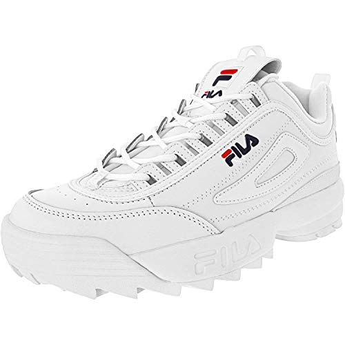 Fila Hombres Fashion Sneakers Weiss Groesse 11 US /45 EU
