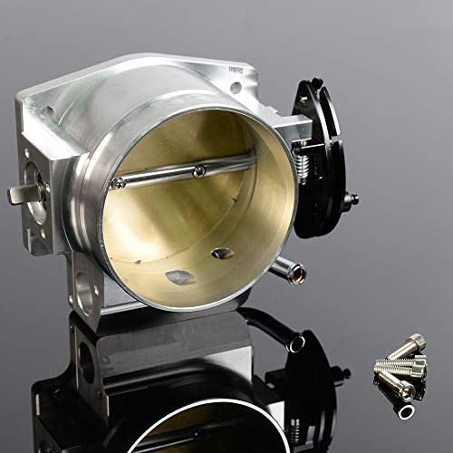 Price comparison product image 92mm Throttle Body For GM Gen III Ls1 Ls2 Ls6 Ls3 Ls Ls7 Sx Ls 4 Cnc Bolt Cable