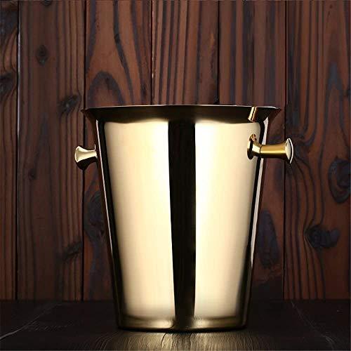 Vat koeling bier kookgerei capaciteit keuken bevroren bier ijsemmer gouden eettafel emmer ijs graan opslag