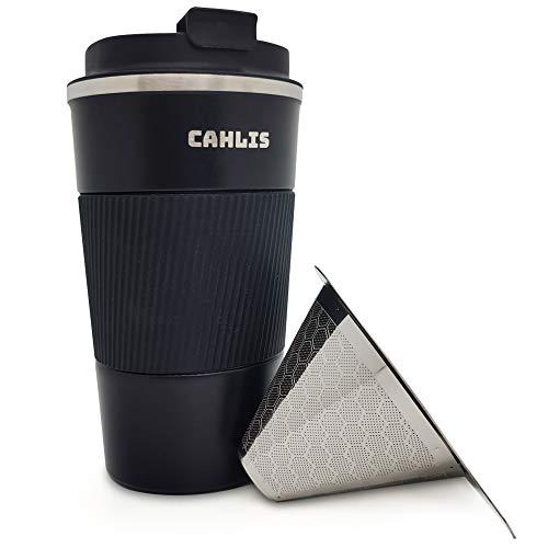 Pour Over Coffee Travel Mug