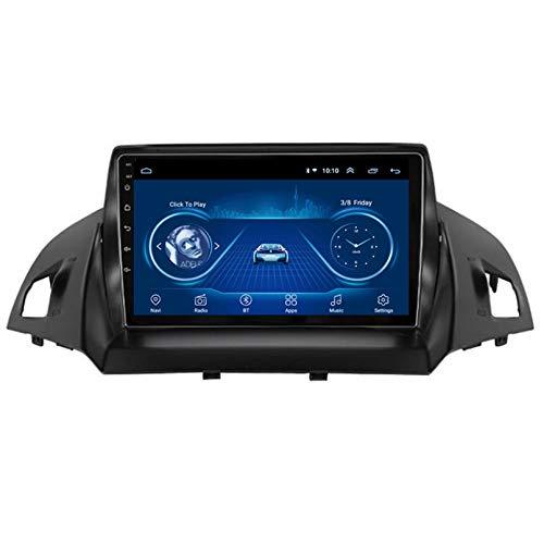 TIANDAO Android 10.0 8 Core Car Stereo Radio de navegación por satélite FM Am Autoradio 2.5D Pantalla táctil para Ford KUGA 2013-2017 Navegador GPS Bluetooth WiFi GPS USB SD Player(Color:WiFi 1G+16G)